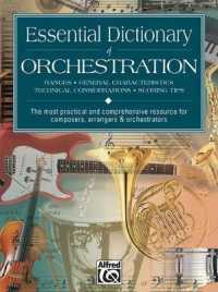 Link to an enlarged image of Essential Dictionary of Orchestration (The Essential Dictionary Series)