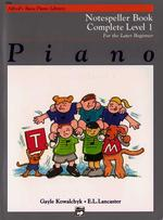 Link to an enlarged image of Alfred's Basic Piano Library Notespeller Book Complete Level (Alfred's Basic Piano Library)