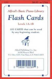 Link to an enlarged image of Alfred's Basic Piano Library Flash Cards Levels 1A-1B (Alfred's Basic Piano Library) (FLC CRDS)