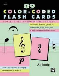 Link to an enlarged image of Complete Color-Coded Flash Cards : For All Beginning Music Students (FLC CRDS)