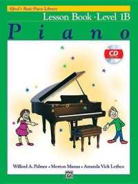 Link to an enlarged image of Alfred's Basic Piano Library Piano Lesson Book, Level 1B (3rd Paperback + Spoken Word Compact Disc)