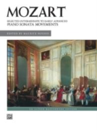 Link to an enlarged image of Mozart Selected Intermediate to Early Advanced Piano Sonata Movements : Alfred Masterwork Edition