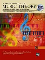 Link to an enlarged image of Essentials of Music Theory: a Complete Self-Study Course for All Musicians : Book & 2 CDs (Paperback + Spoken Word Compact Disc)