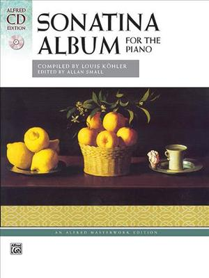 Link to an enlarged image of Sonatina Album : A Collection of Favorite Sonatinas, Rondos and Other Pieces (Alfred Cd Edition)