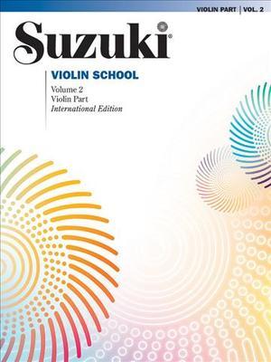 Link to an enlarged image of Suzuki Violin School : Violin Part <2> (Revised)