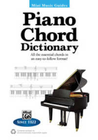 Link to an enlarged image of Piano Chord Dictionary : All the essential chords in an easy-to-follow format! (Mini Music Guides)