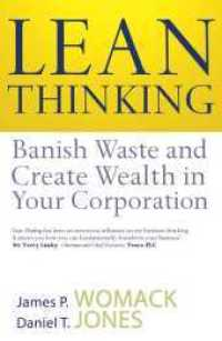 Link to an enlarged image of Lean Thinking : Banish Waste and Create Wealth in Your Corporation -- Paperback / softback