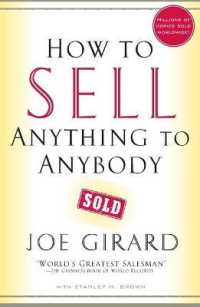 Link to an enlarged image of How to Sell Anything to Anybody (Reprint)