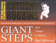 Link to an enlarged image of Giant Steps : Small Changes to Make a Big Difference -- Paperback / softback