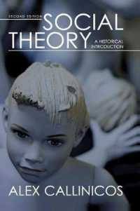 Link to an enlarged image of Social Theory : A Historical Introduction (2nd)