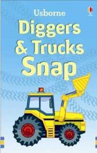 Link to an enlarged image of Diggers and Trucks Snap (Snap Cards) -- Novelty book