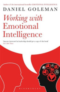 Link to an enlarged image of Working with Emotional Intelligence -- Paperback / softback (New ed)