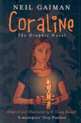 Link to an enlarged image of Coraline -- Paperback / softback