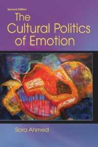 Link to an enlarged image of The Cultural Politics of Emotion (2ND)