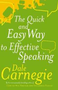 Link to an enlarged image of Quick and Easy Way to Effective Speaking -- Paperback / softback