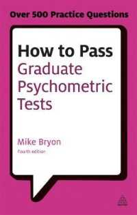 Link to an enlarged image of How to Pass Graduate Psychometric Tests : Essential preparation for numerical and verbal ability tests plus personality questionnaires (Testing) (4th)