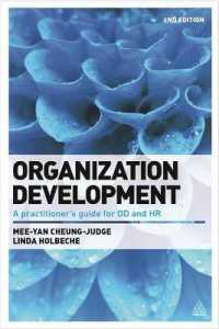 Link to an enlarged image of Organization Development : A Practitioner's Guide for OD and HR (2nd)