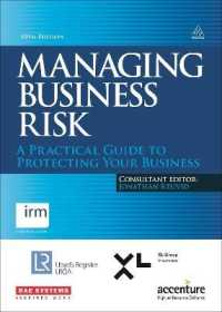 Link to an enlarged image of Managing Business Risk : A practical guide to protecting your business (10th)