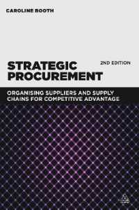 Link to an enlarged image of Strategic Procurement : Organizing suppliers and supply chains for competitive advantage (2nd)