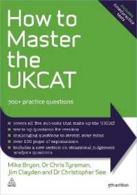 Link to an enlarged image of How to Master the Ukcat : 700+ Practice Questions (5th)