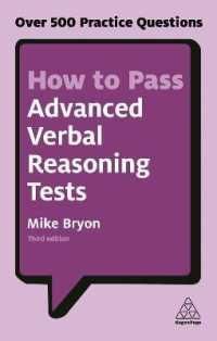 Link to an enlarged image of How to Pass Advanced Verbal Reasoning Tests : Over 500 Practice Questions (Kogan Page Testing) (3rd)