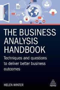 Business Analysis Handbook 9780749497064