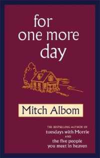 Link to an enlarged image of For One More Day -- Paperback / softback