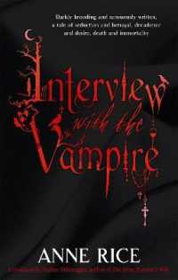 Link to an enlarged image of Interview with the Vampire : Number 1 in series (Vampire Chronicles) -- Paperback / softback
