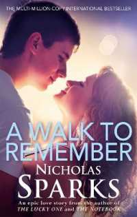 Link to an enlarged image of Walk to Remember -- Paperback / softback