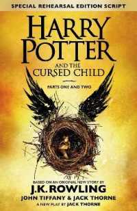 Link to an enlarged image of Harry Potter and the Cursed Child - Parts One and Two (Special Rehearsal Edition) : The Official Script Book of the Original West End Production -- Ha