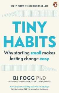 Link to an enlarged image of Tiny Habits : Why Starting Small Makes Lasting Change Easy -- Paperback / softback