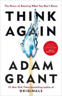 Link to an enlarged image of Think Again -- Paperback (English Language Edition)