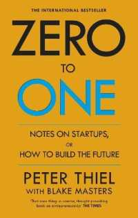 Link to an enlarged image of Zero to One : Notes on Start Ups, or How to Build the Future -- Paperback / softback