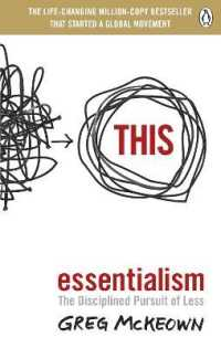 Essentialism: The Disciplined Pursuit of Less 9780753558690