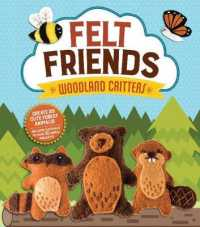 Link to an enlarged image of Woodland Critters (Felt Friends) (BOX Paperback + AC)
