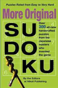 Link to an enlarged image of More Original Sudoku : Book 3 (CSM)