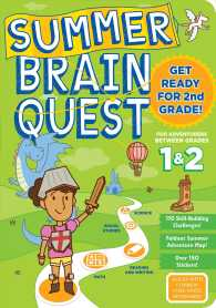 Link to an enlarged image of Summer Brain Quest between Grades 1 & 2 (Summer Brain Quest) (CSM STK PA)