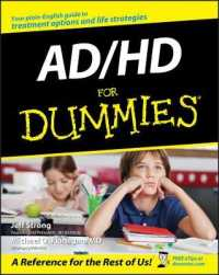 Link to an enlarged image of AD/HD for Dummies (For Dummies (Psychology & Self Help))