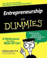 Link to an enlarged image of Entrepreneurship for Dummies (For Dummies (Computer/tech))
