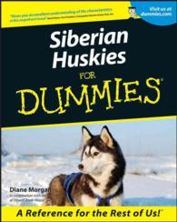 Siberian Huskies for Dummies (For Dummie... by Morgan, Diane