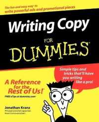 Link to an enlarged image of Writing Copy for Dummies (For Dummies (Career/education))