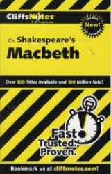 Link to an enlarged image of Cliffsnotes Shakespeare's Macbeth (Cliffsnotes Literature)