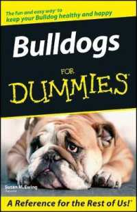 Bulldogs for Dummies (For Dummies (Pets)... by Ewing, Susan M.