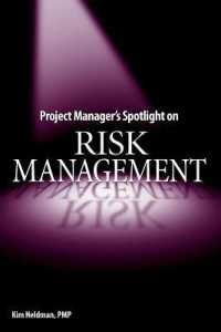 Link to an enlarged image of Project Manager's Spotlight on Risk Management