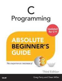 Link to an enlarged image of C Programming Absolute Beginner's Guide (Absolute Beginner's Guide) (3rd)