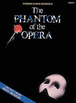 Link to an enlarged image of The Phantom of the Opera : Violin
