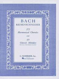 Link to an enlarged image of 371 Harmonized Chorales and 69 Chorale Melodies with Figured Bass : Piano Solo