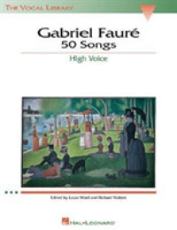 Link to an enlarged image of Gabriel Faure : 50 Songs : High Voice