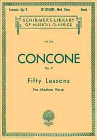 Link to an enlarged image of 50 Lessons, Op. 9