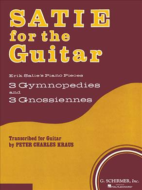 Link to an enlarged image of Satie for the Guitar